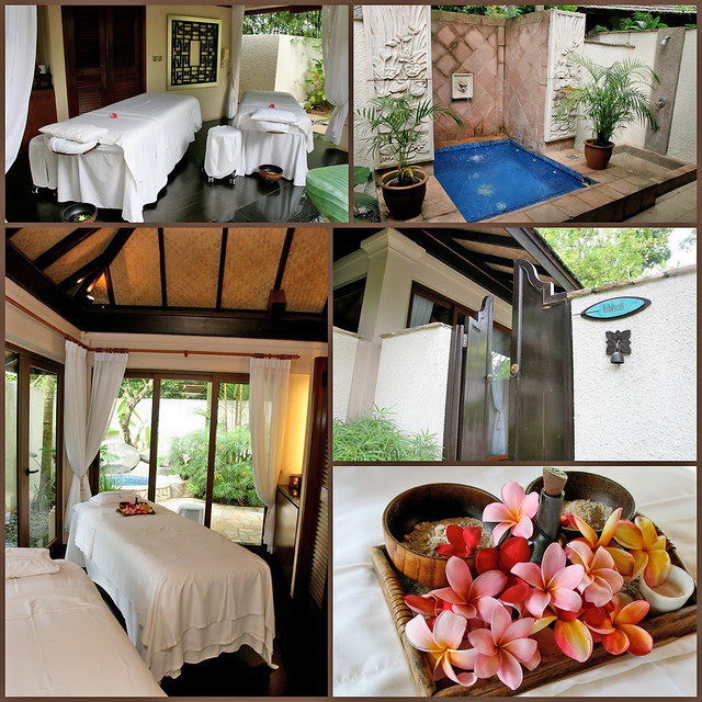 Spa Botanica has luxurious outdoor private pavilions