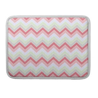 Cotton Candy Dreams {chevron pattern} Sleeve For MacBooks