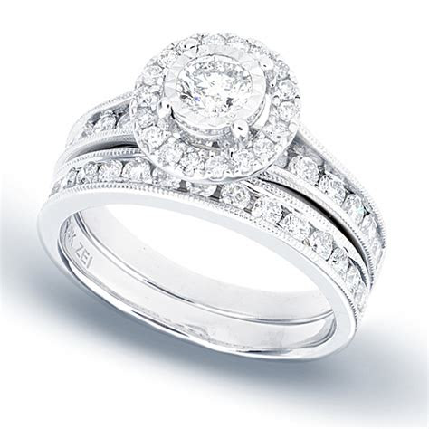 reflections diamond bridal set   carat total weight