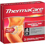 Thermacare Menstrual Pain Therapy Heatwraps - 3 count