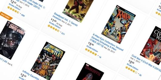 Amazon Sale Practically Gives Away Thousands Of Digital Marvel Comics