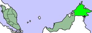 Lokasi Sabah