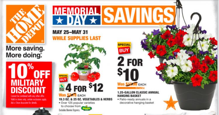Hanging Flower Baskets Home Depot Canada : Home depot hanging basket sale