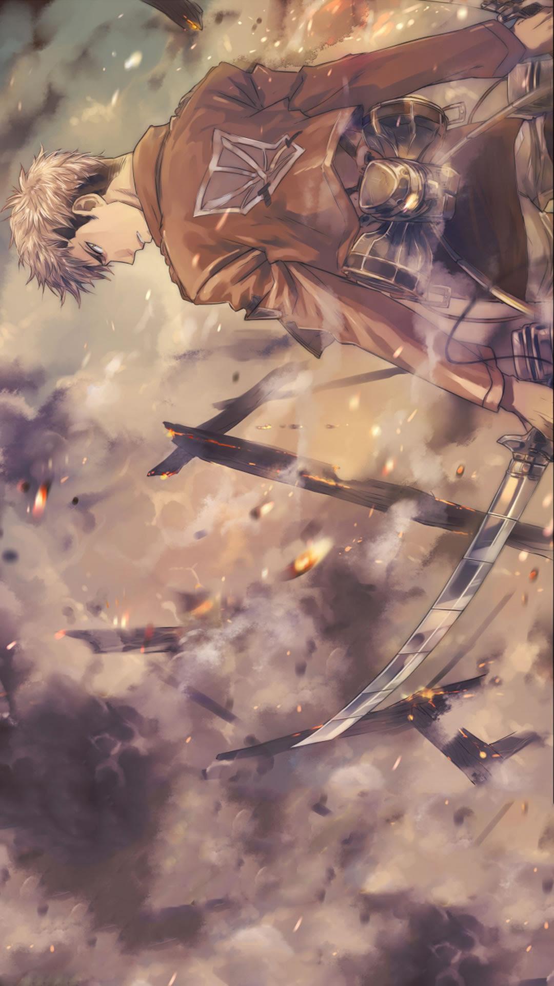 進撃の巨人のジャン キルシュタインの無料壁紙 アニメ マンガ