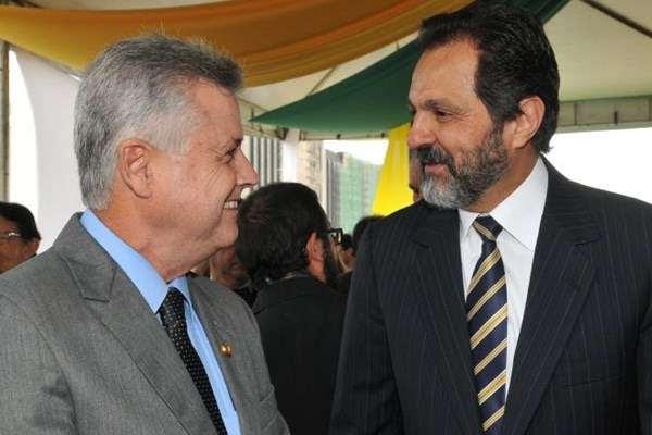 Agnelo é o primeiro confirmado na corrida ao Buriti: candidatura será oficializada em convenção do PT em maio (Marcelo Ferreira/CB/D.A Press  )