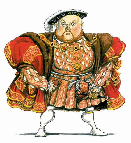 Kings and Queens: Henry VIII enjoyed gambling, archery, hunting, drinking and music