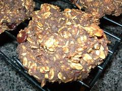 Apple Molasses Breakfast Cookies