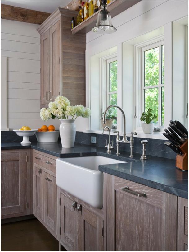 Cerused Oak Cabinetry - Modern Oak Cabinets - Hadley Court