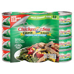Chicken of the Sea Chunk Light Premium Tuna in Water, 7 oz, 12-count