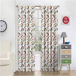 """Forest Friends Thermaback Blackout Curtain (63"""" X 42"""") - Eclipse MyScene"""
