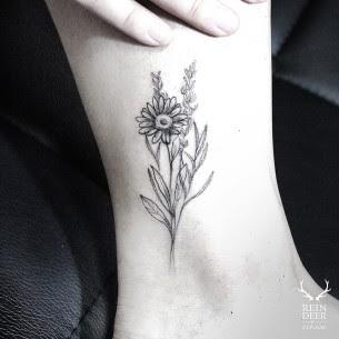 Daisy Flower Tattoo Best Tattoo Ideas Gallery