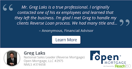 Anonymous recommends Greg Laks