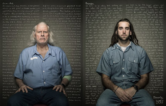 Convicts Share Words of Wisdom with their Younger Selves in Powerful Photo Series