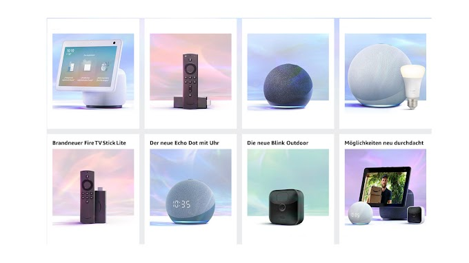 Amazon renews its range of devices: Echo and Echo Dot, Echo Show 10, Fire TV Lite, and more