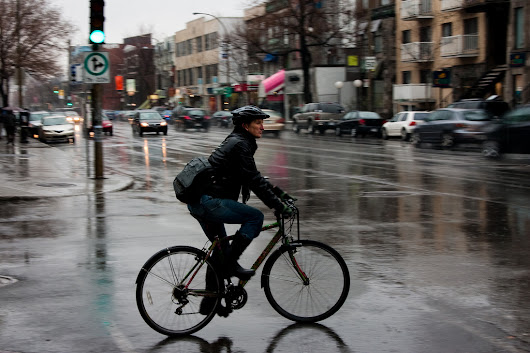 How to Ride Your Bike Safely in the Rain -