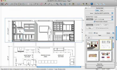 Creating Documents in LayOut | Sketchup Model for Layout