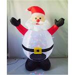 Santas Forest 90321 Inflatable Christmas Santa, 4'