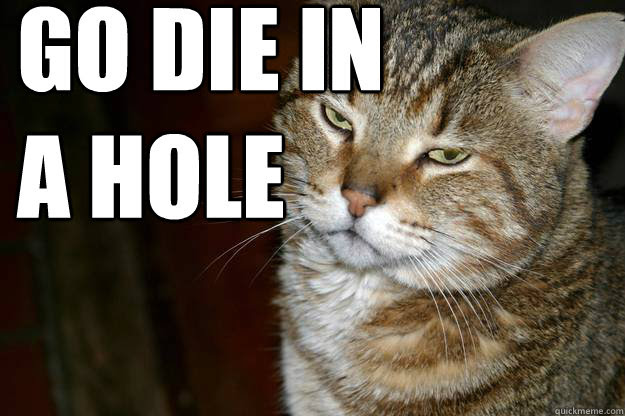 Image result for die in a hole