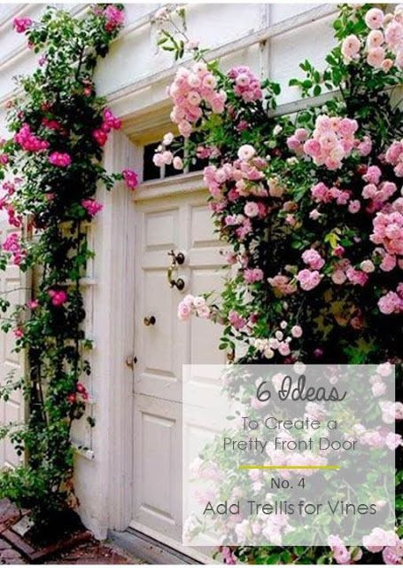 6 Ideas to Create a Pretty Front Door