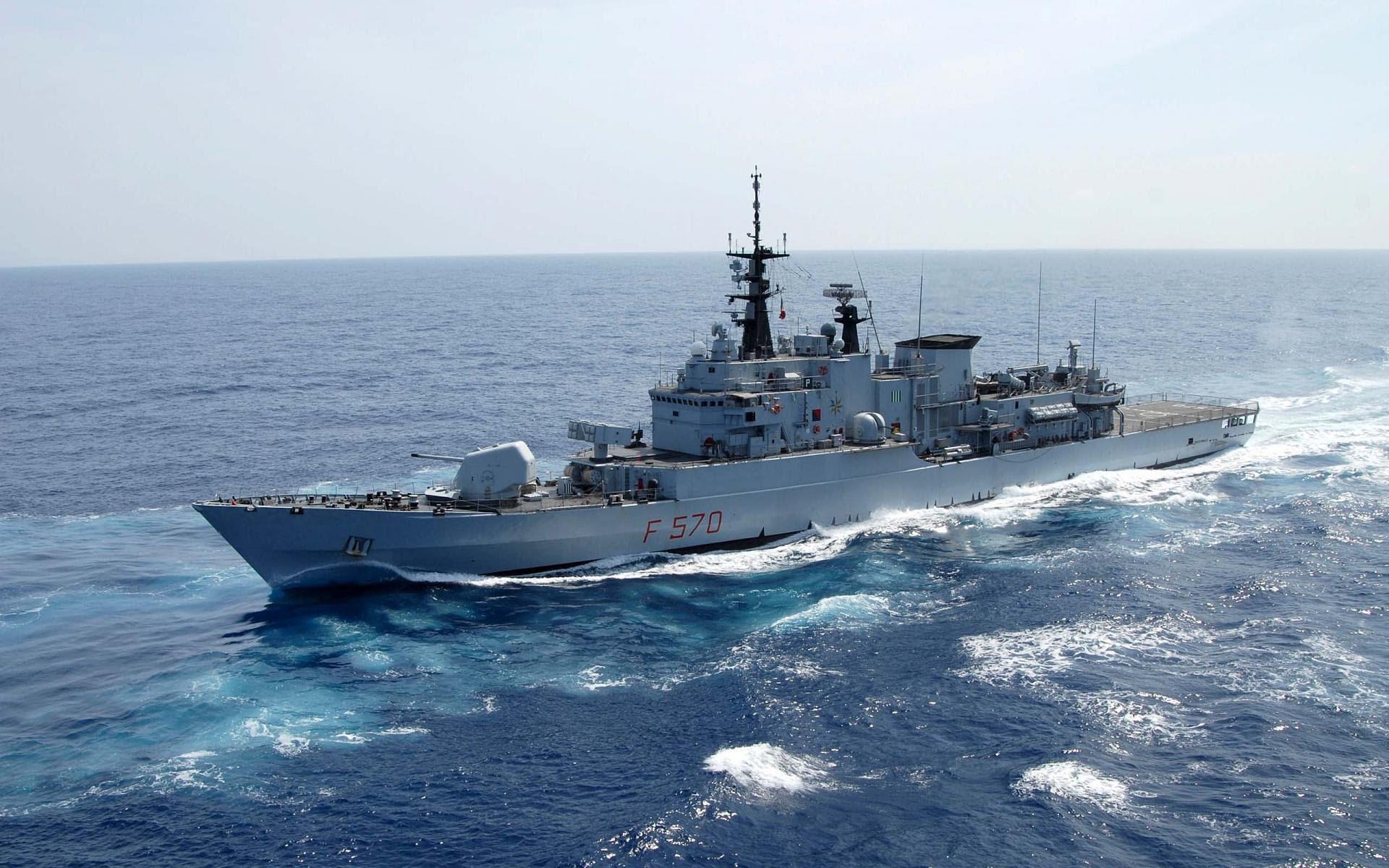 Militar - Italian Frigate ITS Maestrale (F570)  Fondo de Pantalla