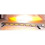 "47"" LED Amber Lens Lightbar Flashing Warning Tow/Plow Truck Wrecker"