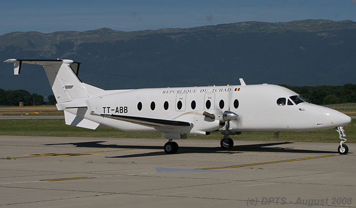 Tchad Government Beech 1900D (confirmed MCN UE406 | TT-ABB)