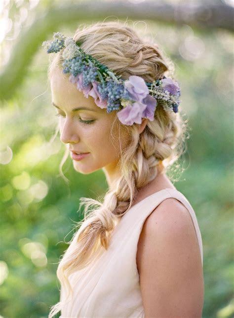 Wedding Hair lavender Floral Crown