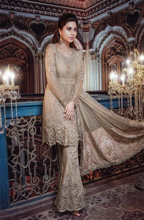 MARIA. B Luxury Formal Dresses Embroidered Collection 2017