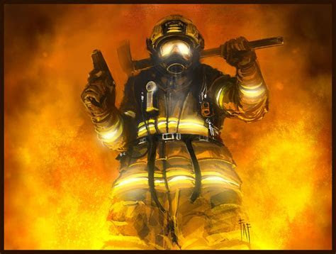 #555555 HD Widescreen Firefighter Images, Wallpapers for