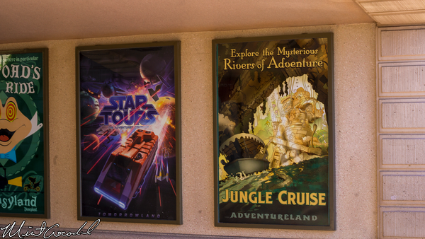 Disneyland Resort, Disneyland, Main Street U.S.A., Christmas, Christmas Time, Jungle Cruise, Attraction, Poster