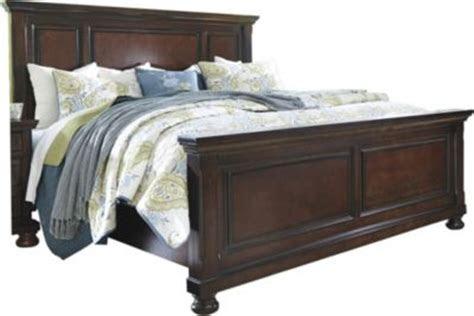 ashley porter king panel bed homemakers furniture