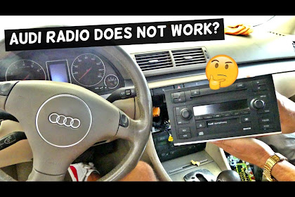 2008 Audi A4 Radio Not Working