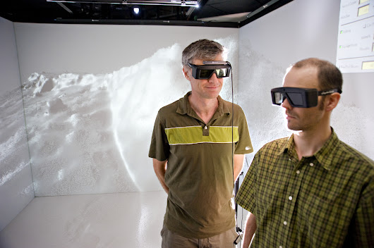 KeckCAVES Virtual Reality Software Now for Gaming Headsets