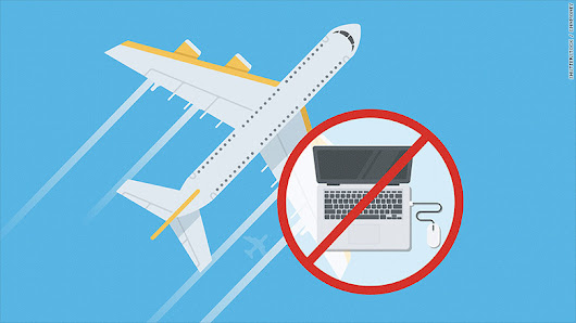 Electronics banned from cabins on some Middle Eastern and African flights to U.S.