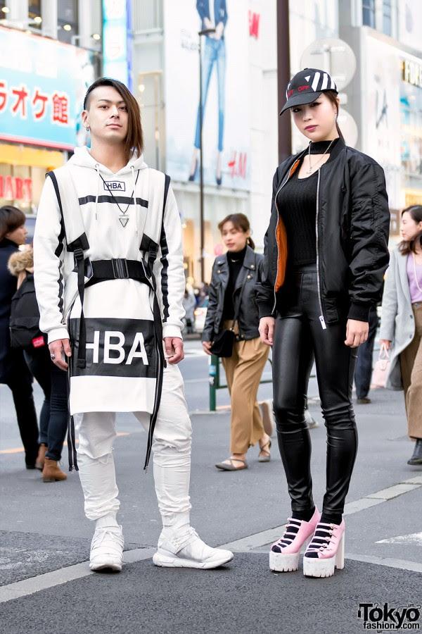 harajuku duo in streetwearhoodair y3 long