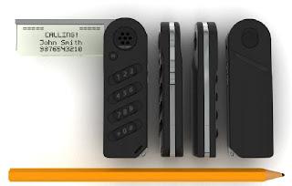 Tiny Phone Concept : A no-frills design!