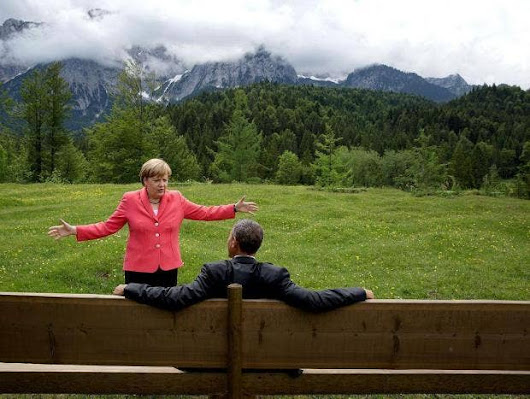 Angela Merkel is now the leader of the free world, not Donald Trump