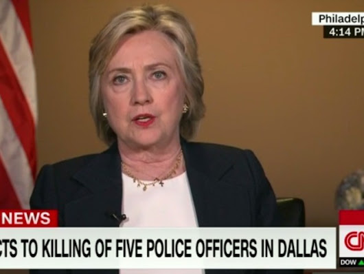 Hillary Clinton Blames Whites, Cops for Deaths of Young Black Men - Breitbart