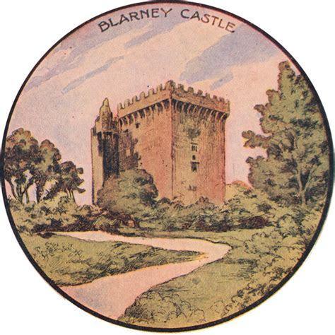 Free St Patrick's Day Clip Art   Blarney Castle   The
