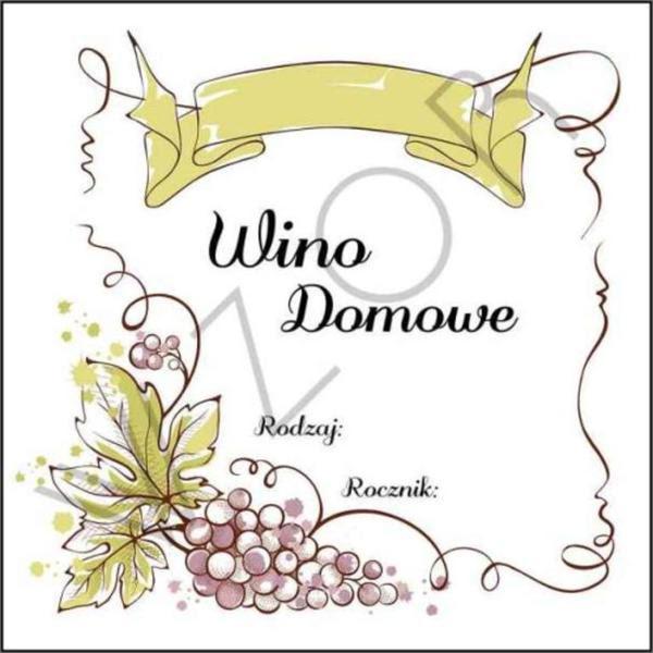 Starowar Etykiety Na Wino Domowe Wd03 5szt Wwwdestylacjacom