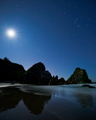 Oregon Coast - Stars por Jesse Estes