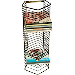 Atlantic - Onyx CD Tower - Black