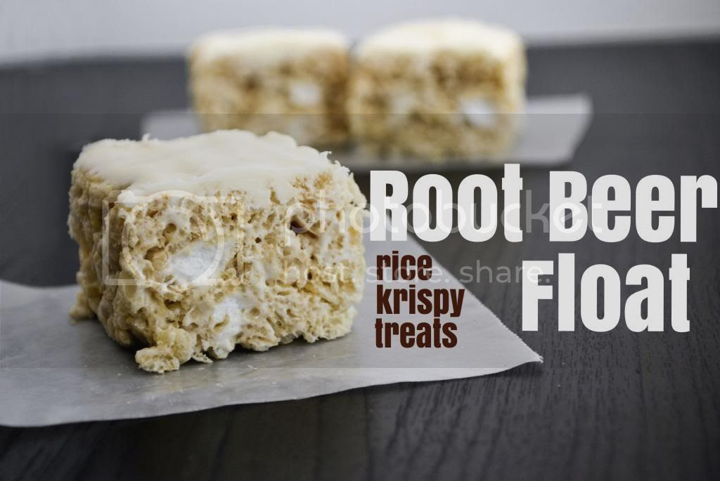 Mallow and Co: Root Beer Float Rice Krispy Treats