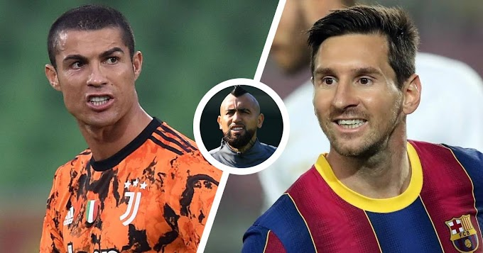 Arturo Vidal comment on Ronaldo-Messi debate: 'There is no comparison, Leo is from another planet'