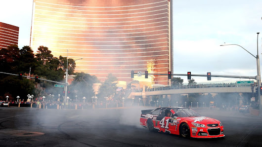 Time for NASCAR to fold on awards ceremony in Vegas