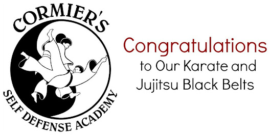 Jujitsu and Karate Black Belts | Cormier's Self Defense Academy