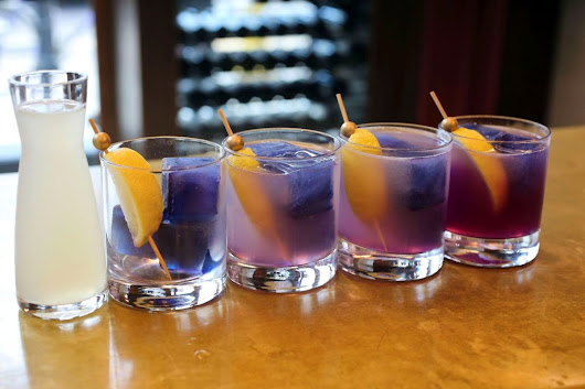 Some cocktails you might find on our Mixology Tour