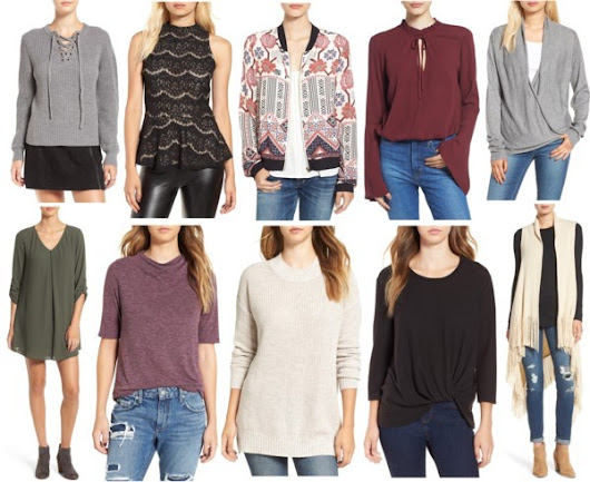 Wednesday Wish List- Fall Transitional Pieces Under $50 & Free Shipping!