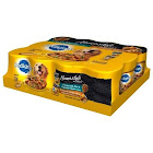 Pedigree Homestyle Meals Prime Rib/Roasted Chicken, Rice and Vegetable Flavor in Gravy - 12 count, 13.2 oz cans