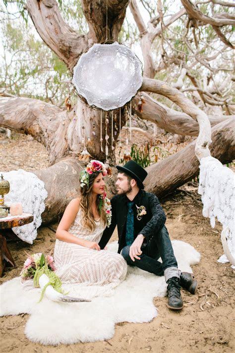 Bohemian California wedding   Boho wedding ideas   100